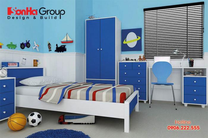 Khi được sống trong một không gian đúng với sở thích của mình, trẻ sẽ tha hồ bay nhảy, thêm yêu căn phòng của mình hơn