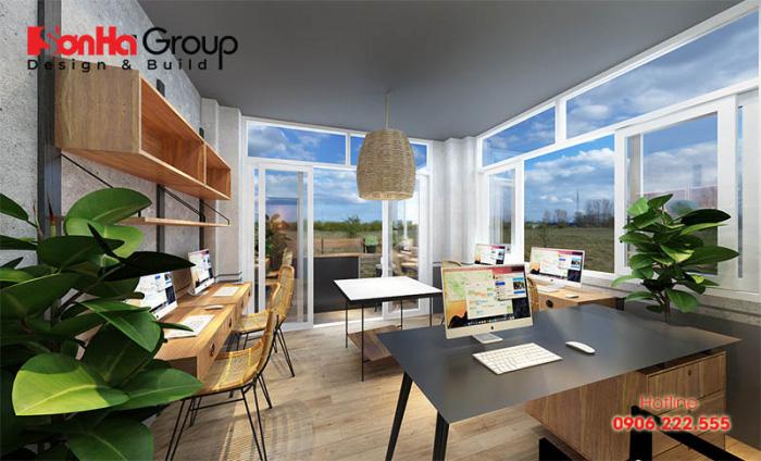 Khi thiết kế văn phòng hiện đại với diện tích nhỏ thì ánh sáng là một khía cạnh rất quan trọng của một không gian làm việc