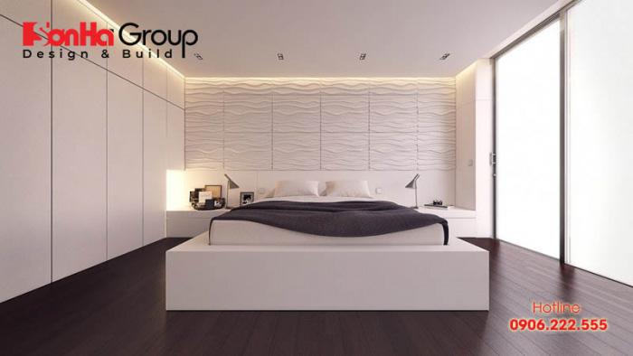 Không nên sử dụng màu trắng quá nhiều cho căn phòng ngủ