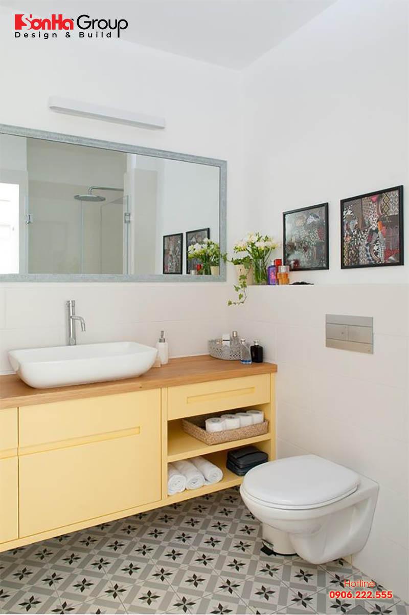 Lựa chọn đồ nội thất thông minh là giải pháp tối ưu cho phòng tắm 2m2