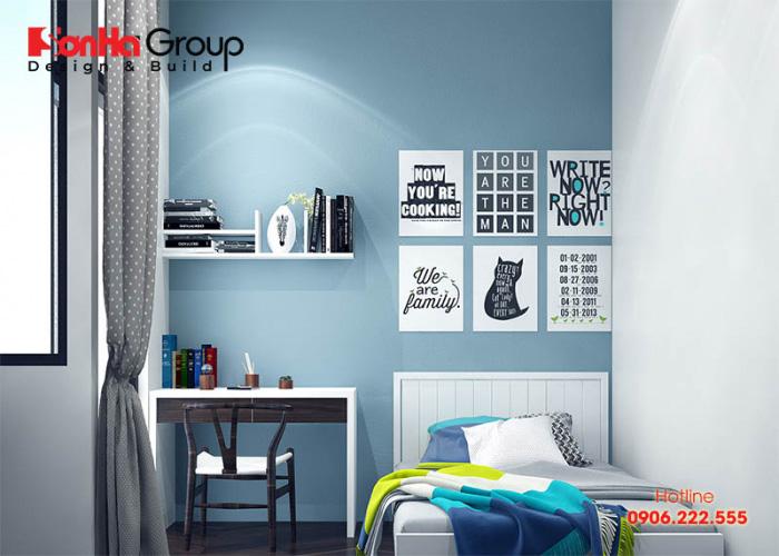 Mẫu phòng ngủ cho bé trai 10 tuổi với thiết kế nội thất hiện đại đẹp và sang
