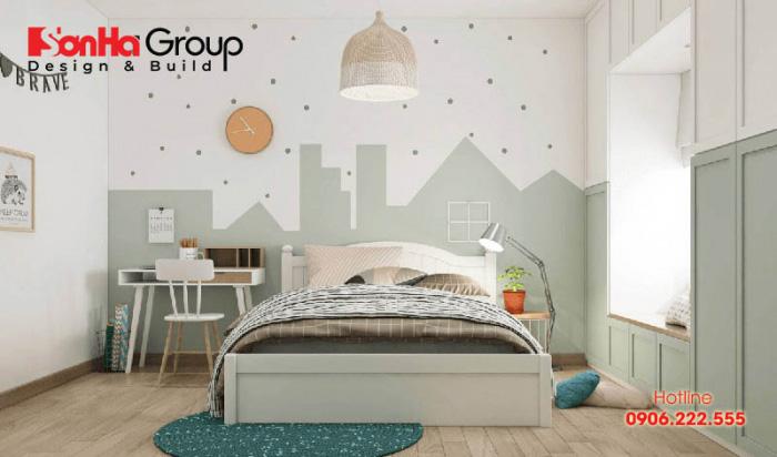 Mẫu phòng ngủ đẹp dành cho các bé gái 4