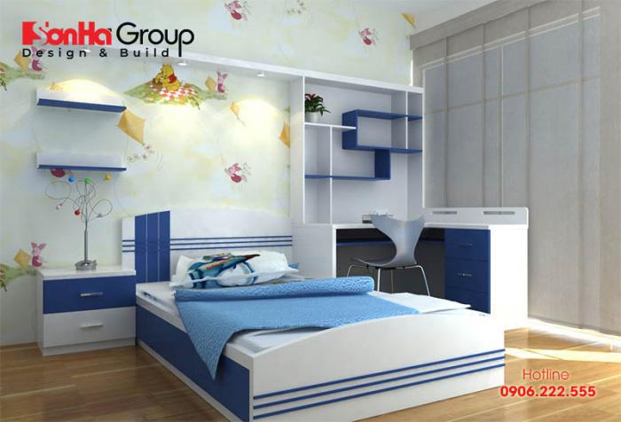 Mẫu phòng ngủ đẹp dành cho các bé trai 2