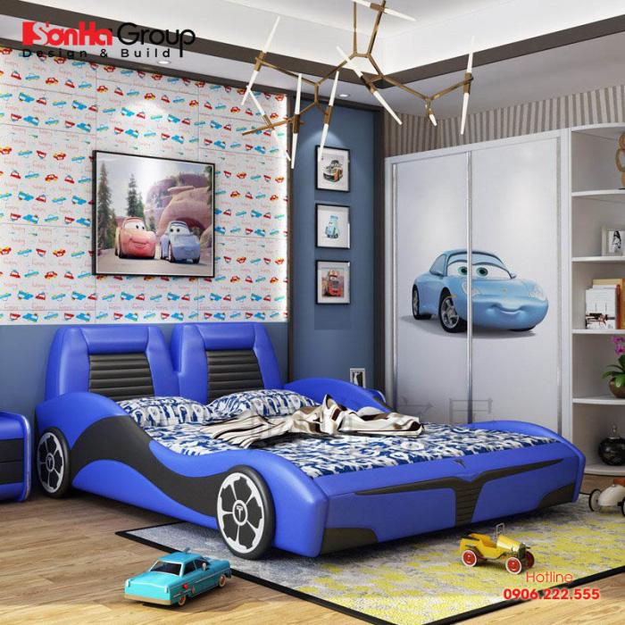 Mẫu phòng ngủ đẹp dành cho các bé trai 3