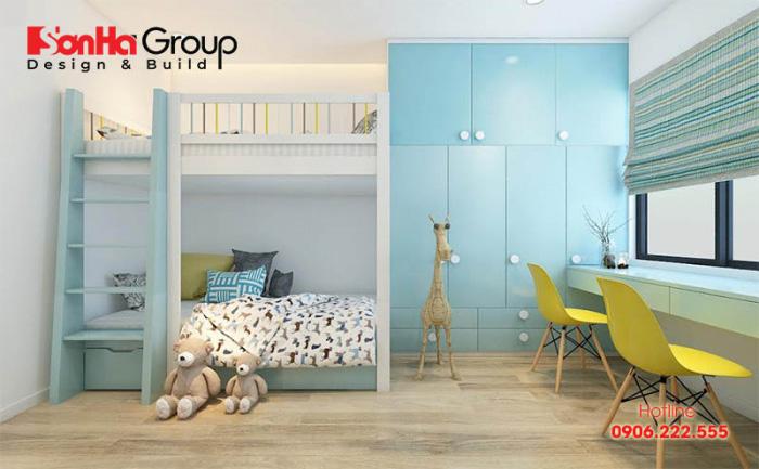 Mẫu phòng ngủ đẹp dành cho các bé trai 5