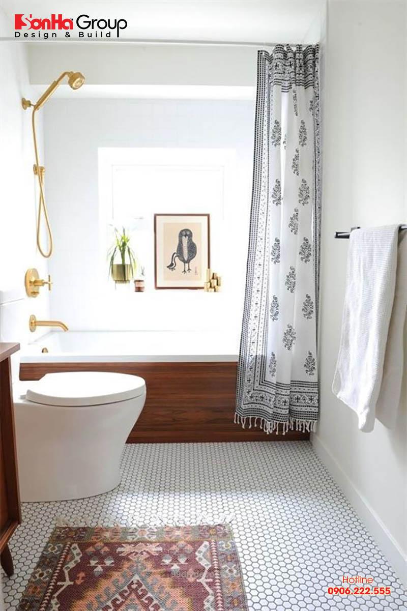 Mẫu phòng tắm, nhà vệ sinh nhỏ đẹp cuốn hút người nhìn bởi thiết kế ấn tượng