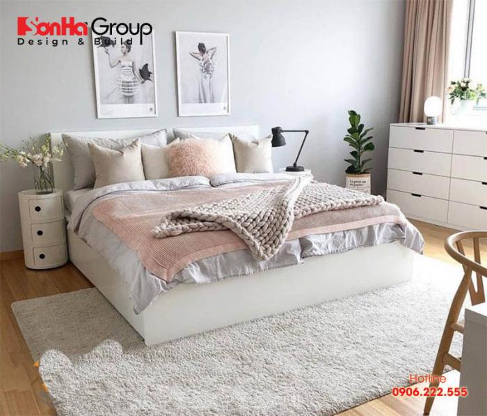 Mẫu thiết kế nội thất phòng ngủ cho nữ kiểu Hàn Quốc được yêu thích nhất hiện nay
