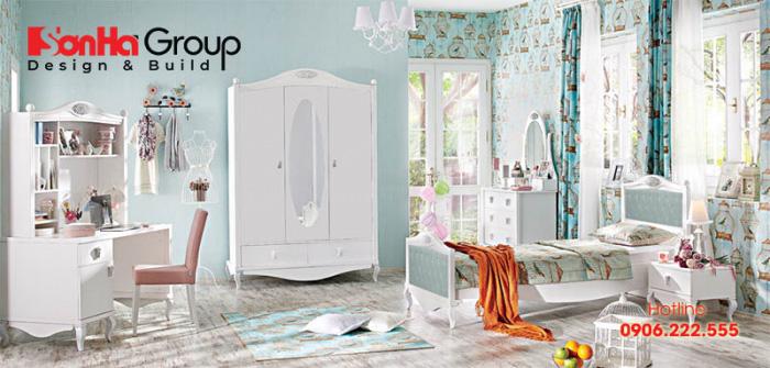 Mẫu thiết kế phòng ngủ cho các cô nàng tuổi teen 2
