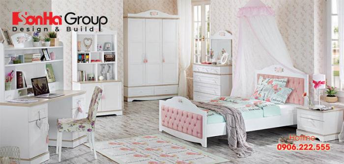 Mẫu thiết kế phòng ngủ cho các cô nàng tuổi teen 3