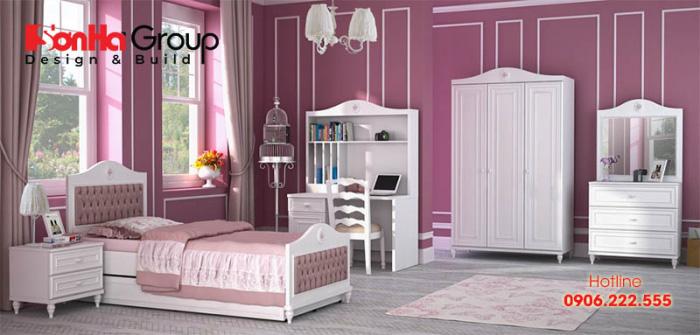 Mẫu thiết kế phòng ngủ cho các cô nàng tuổi teen 4
