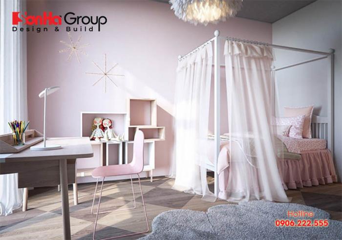 Mẫu thiết kế phòng ngủ cho các cô nàng tuổi teen 5