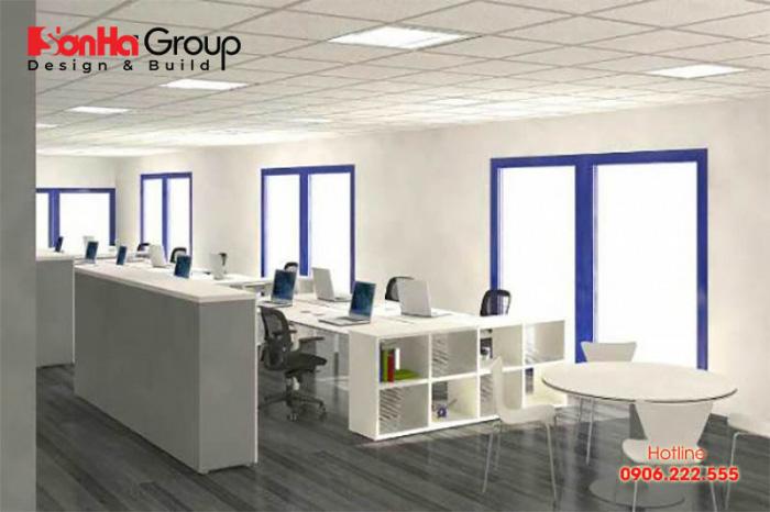 Mẫu thiết kế văn phòng làm việc nhỏ đẹp và độc đáo được yêu thích nhất hiện nay 1