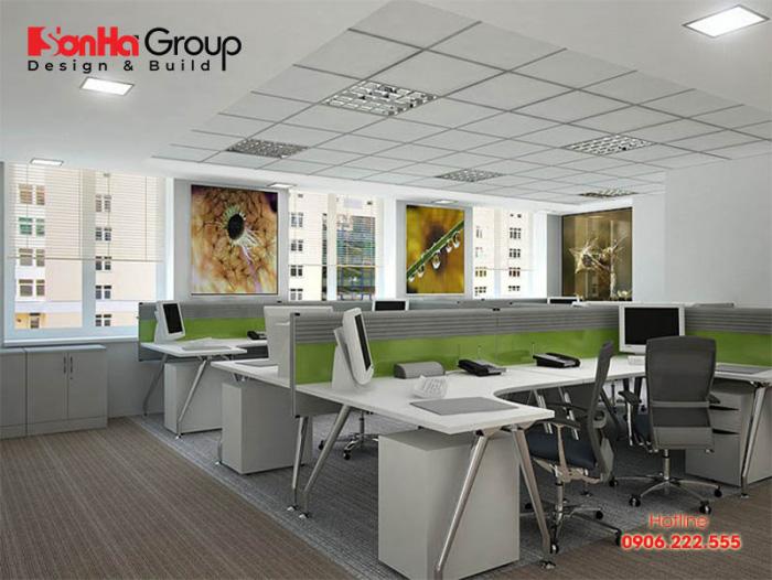 Mẫu thiết kế văn phòng làm việc nhỏ đẹp và độc đáo được yêu thích nhất hiện nay 3
