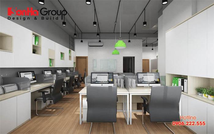 Mẫu thiết kế văn phòng làm việc nhỏ đẹp và độc đáo được yêu thích nhất hiện nay 6