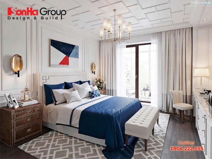 Nếu sàn nhà có gam màu ấm thì ngược lại tường sẽ phải sơn màu trắng hoặc tông lạnh