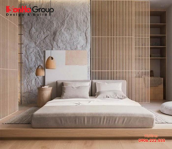 Phòng ngủ phong cách Zen đòi hỏi những gam màu ấm áp nhẹ nhàng