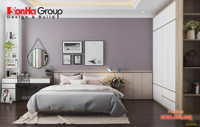Phương án thiết kế phòng ngủ 10m2 với nội thất đơn giản được ưa chuộng nhất hiện nay