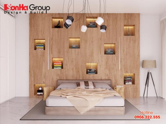 Phương án thiết kế phòng ngủ không giường đơn giản nhưng vô cùng tinh tế
