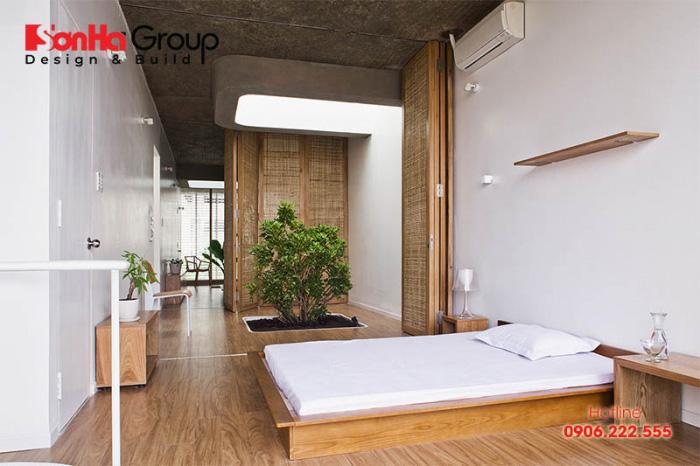Sàn nhà phong cách Zen thường sử dụng vật liệu như sàn gỗ tre