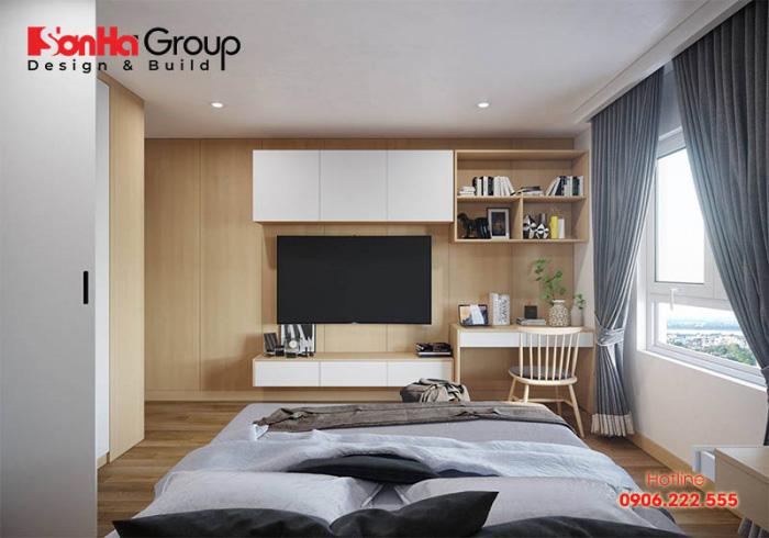 Sắp xếp đồ hợp lý, khoa học cho phòng ngủ 10m2 thêm đẹp