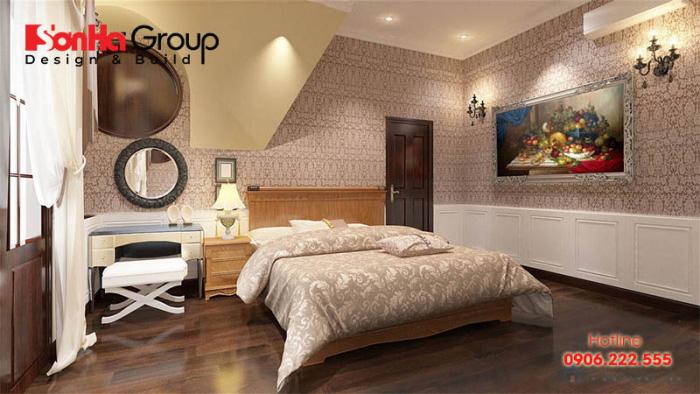 Theo các chuyên gia, diện tích phòng ngủ cho bố mẹ hợp lý nhất là 15m2