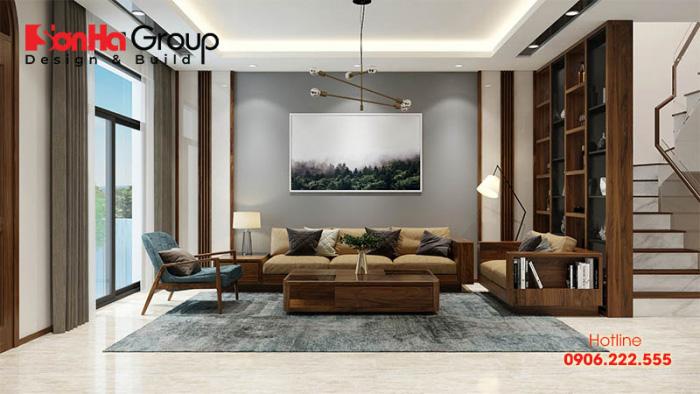 Thiết kế nội thất hiện đại được ưa chuộng trong dự án Vinhomes Marina