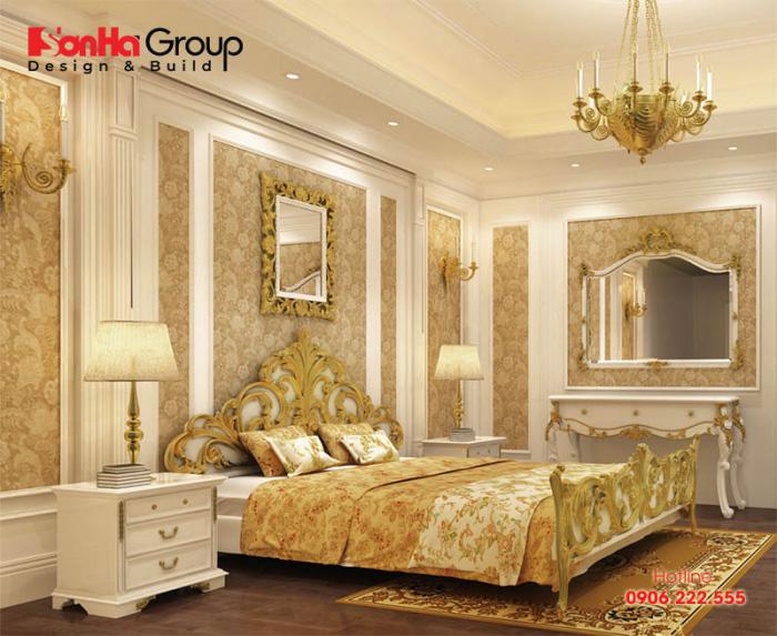 Thiết kế nội thất phòng ngủ mang phong cách tân cổ điển đẹp nhất xu hướng năm 2020