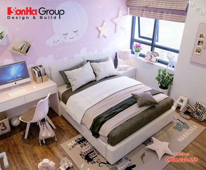 Thiết kế phòng ngủ cho bé gái trở nên lung linh nhờ các mẹo nhỏ sau