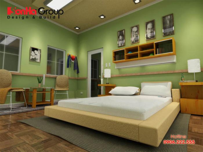 Thiết kế phòng ngủ đẹp, chuẩn phong thủy cho người mệnh Hỏa đón thật nhiều sức khỏe và tài lộc