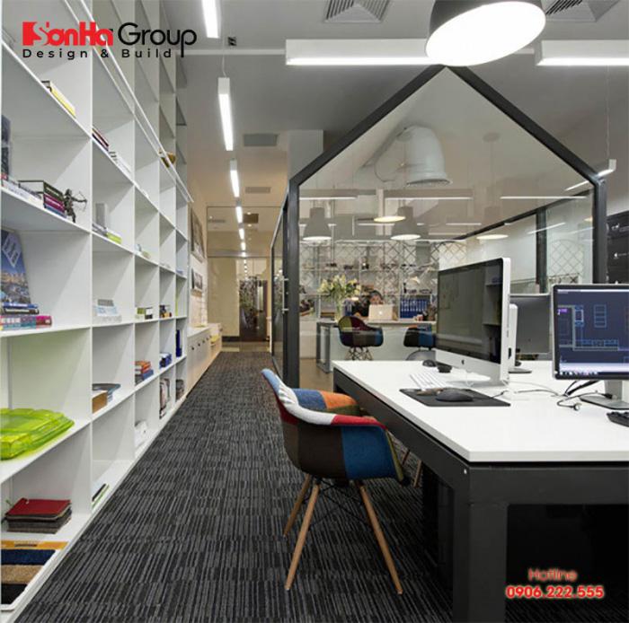 Thiết kế văn phòng không gian mở là một trong những giải pháp tốt nhất giúp cải thiện môi trường làm việc