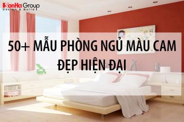 Top 50+ mẫu phòng ngủ màu cam kiểu hiện đại đẹp mê hồn 10