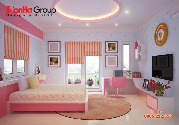 Trang trí mẫu phòng ngủ đẹp cho bé gái theo từng độ tuổi bố mẹ nên biết để thiết kế nên căn phòng sinh hoạt riêng vừa tiện nghi lại thoải mái với mỗi người