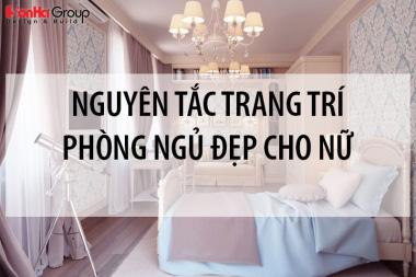 Trang trí phòng ngủ đẹp cho nữ và những nguyên tắc không nên bỏ qua 1