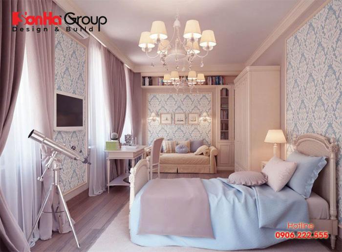 Trang trí phòng ngủ đẹp cho nữ và những nguyên tắc không nên bỏ qua