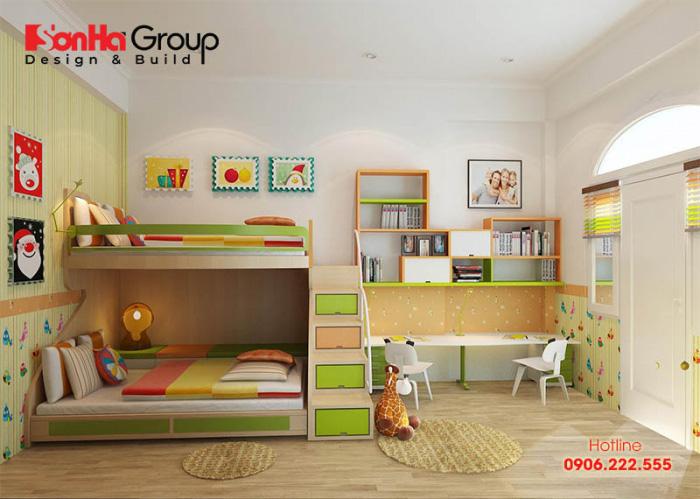 Tuyệt chiêu thiết kế phòng ngủ cho 2 bé trai đẹp - độc- cá tính