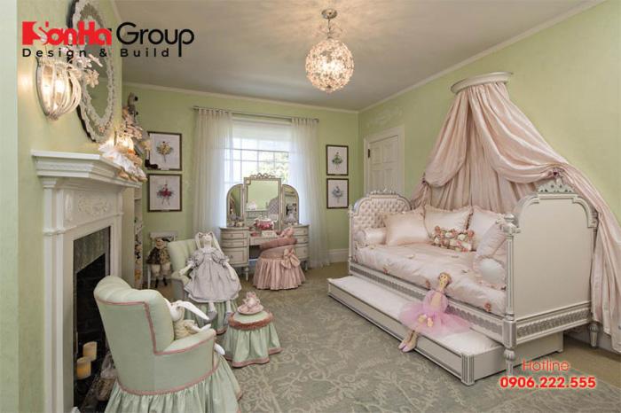 Với chủ đề công chúa hay nữ hoàng thì bạn nên sử dụng những tông màu hồng phấn, màu nude, màu pastel hay màu trắng