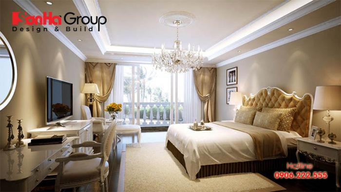 Ý tưởng thiết kế phòng ngủ phong cách hoàng gia châu Âu theo xu hướng mở được yêu thích nhất hiện nay