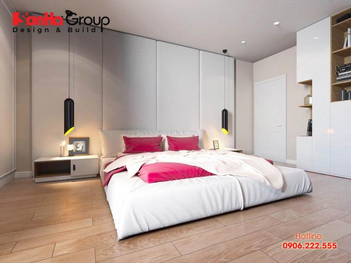 Ý tưởng thiết kế phòng ngủ với gam màu trắng khiến bạn không thể không mê