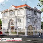 1 Thiết kế biệt thự tân cổ điển đẹp tại hà nội sh btp 0151