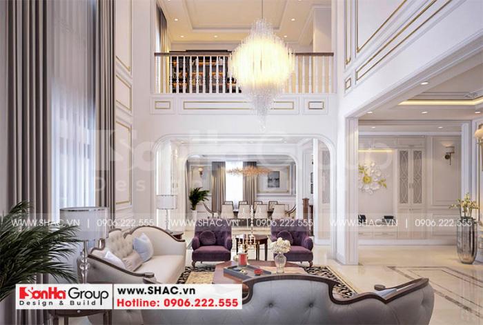Mẫu thiết kế nội thất đẹp và sang của Sơn Hà Group
