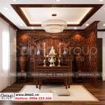 10 Bố trí nội thất phòng thờ tôn nghiêm tại khu đô thị vinhomes imperia hải phòng vhi 007
