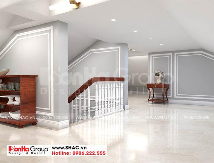 Trang trí nội thất phòng kho biệt thự tân cổ điển cao cấp tại Hà Nội