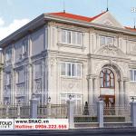 2 Mẫu biệt thự tân cổ điển 3 tầng tại hà nội sh btp 0151