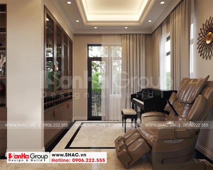 Thiết kế phòng khách biệt thự đẹp, thoáng đãng tận dụng ánh sáng tự nhiên
