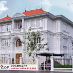 3 Kiến trúc biệt thự tân cổ điển 2 mặt tiền tại hà nội sh btp 0151