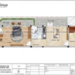 4 Mặt bằng tầng 3 nhà ống kết hợp căn hộ cho thuê mặt tiền 5,4m tại vũng tàu sh nod 0214