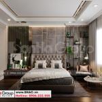 4 Trang trí nội thất phòng ngủ 1 kiểu tân cổ điển tại khu đô thị vinhomes imperia hải phòng vhi 007