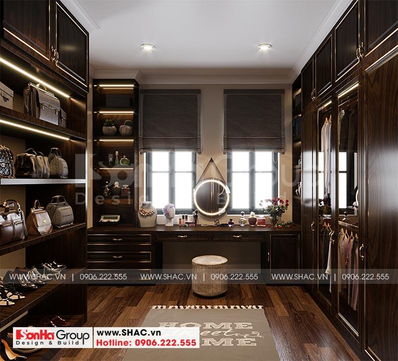 Thiết kế nội thất biệt thự Vinhomes Imperia 12m x 11,8m phong cách tân cổ điển tại Hải Phòng 5