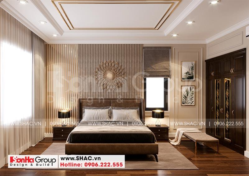Thiết kế nội thất biệt thự Vinhomes Imperia 12m x 11,8m phong cách tân cổ điển tại Hải Phòng 6