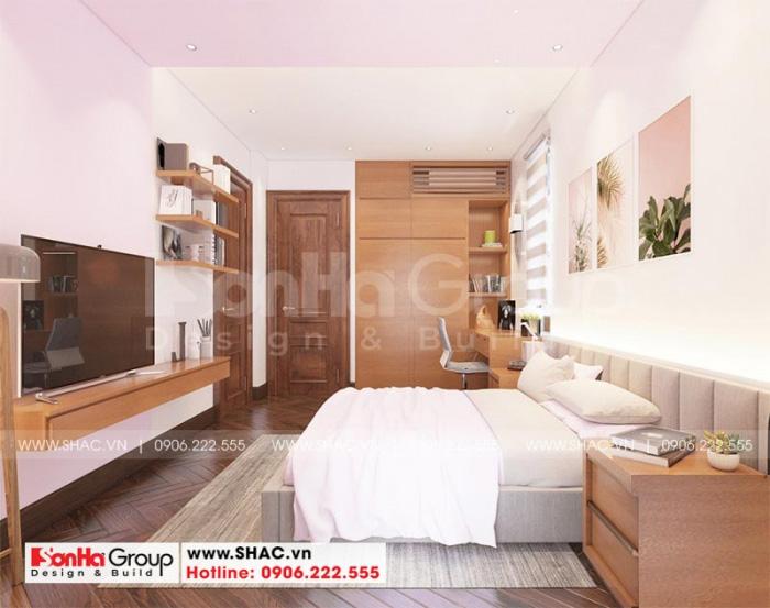 Không gian phòng ngủ con gái đẹp dịu dàng với sắc hồng cá tính